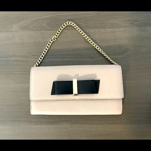 Authentic Kate Spade Wallet/Clutch with Chain